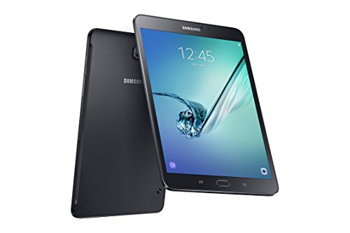 Samsung Galaxy Tab S2 8 Inch Wi-Fi Tablet (Black) (3 GB RAM, 32 GB HDD, Android 6.0), French Version