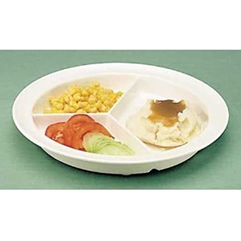 GripWare Partitioned Scoop Dish by