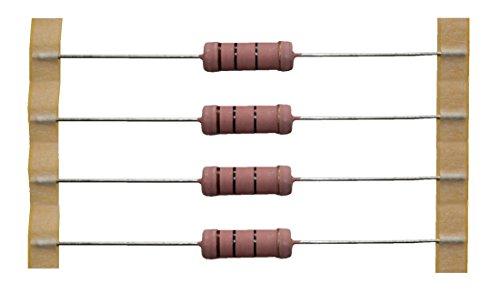 Transistors impédance 100 ohms 5 watt, 5 % de 4 20004)