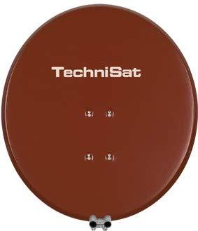 TechniSat SATMAN 650 PLUS - 65 cm Satellitenschüssel mit Masthalterung für UNYSAT Univer