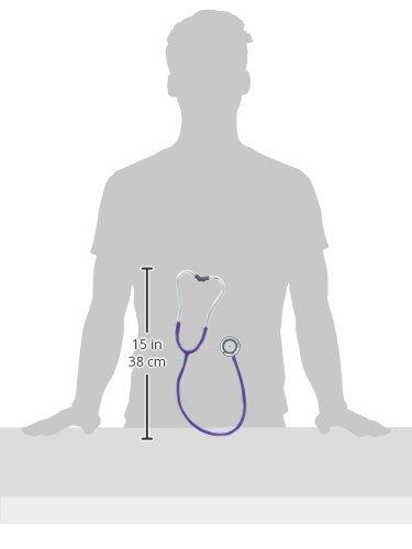 erka Stetoscopio, Finesse Light con tubo (diversi colori), viola, 1