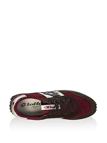 Lotto Tokyo Targa, Chaussures Homme Marron / Rouge