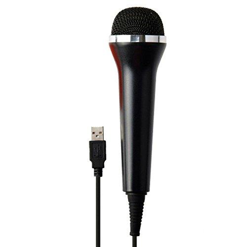 Karaoke micrófono USB, teepao Universal USB dispositivos de audio micrófono para ordenador, de 10pies PS4Pro Slim PS3Xbox one s Xbox 360Wii PC rockband Guitar Hero