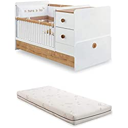 árbol de–cuna Primera infancia para bebé O Niño–EL Estante para cambio de bebé HA DOS cajones y DOS estantes