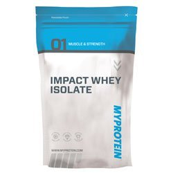 MyProtein 1000g Strawberry Impact Whey Isolate Supplement