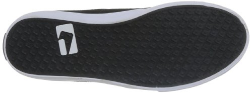 Globe - Mahalo Mid, Scarpe da skateboard Uomo Nero  (Noir (Black))