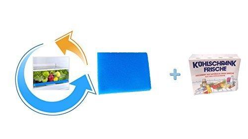 Frischhaltematte für Gemüsefächer 47x30 cm blau + Kühlschrankfrische