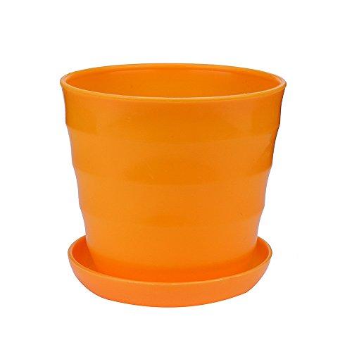 Upxiang Multifonction Pot de Fleurs en Plastique Godet pour semis Balcon Jardin Bureau Home Decor Mini Couleurs Pot de Plante