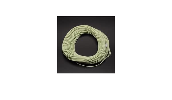 Fly Fishing Line Spring Green RUNNING LINE for Shooting Heads 1.5mm 100ft