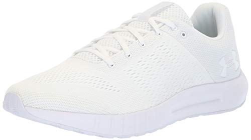 Under Armour Herren Micro G Pursuit Sneaker, Weiß (White  (112)), 48.5 EU -