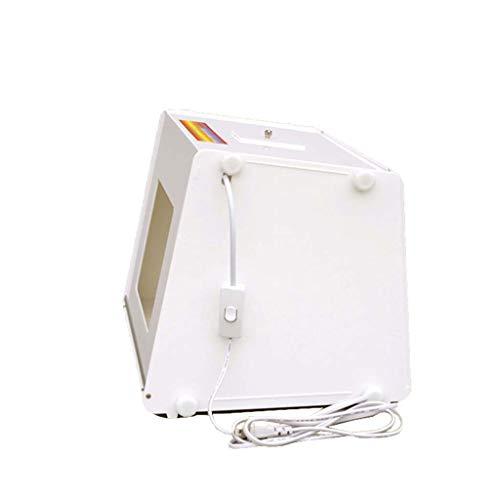 Light Boxes Gona Portable Photo Studio - 31 × 23 × 22,5 cm Foto-Box-Lichtzelt-Beleuchtungsset Mit 2 Stück 5500K LED-Beleuchtung Faltbarer Würfel Professionelle Fotografie Portable Photo Studio Cube