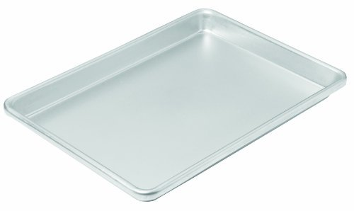 Chicago Metallic Commercial II Traditional Uncoated Small Jelly Roll Pan, 12-1/4 by 8-3/4-Inch by CHICAGO METALLIC - Chicago Metallic Jelly Roll Pan