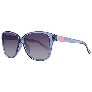 BENETTON BE952S03, Gafas de Sol para Mujer, Azure, 56