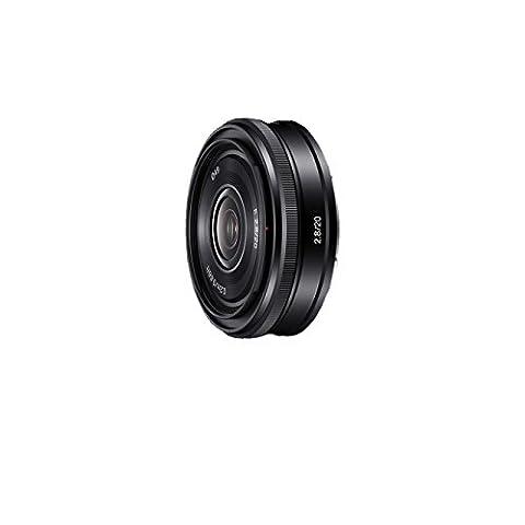 Sony SEL20F28, Weitwinkel-Objektiv mit Festbrennweite (20 mm, F2,8, E-Mount APS-C, geeignet für A5000/ A5100/ A6000 Serien& Nex)