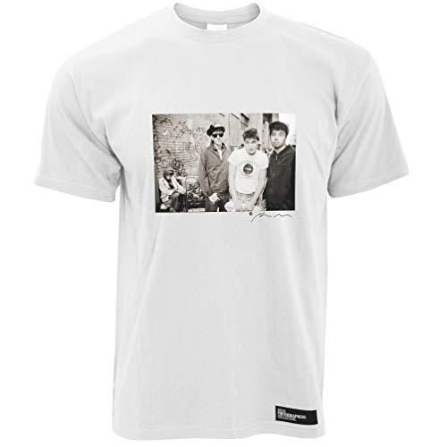Beastie Boys (2) Herren T-Shirt Square. - Weiß/XL