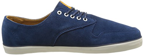Element Topaz Suede, Chaussures de skateboard homme Bleu (Dark/Denim/Dijo)