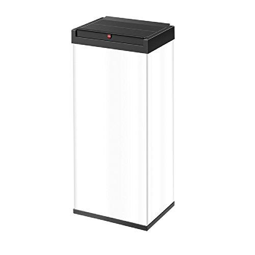 Hailo Big-Box Swing XL Mülleimer (52 Liter, selbstschließender Schwing-Deckel, Müllbeutel-Klemmrahmen) 6460-212