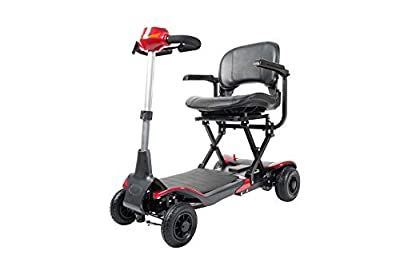 Electric Boot Mobility Scooters Wheelchair and Automatic Fold by Remote Control