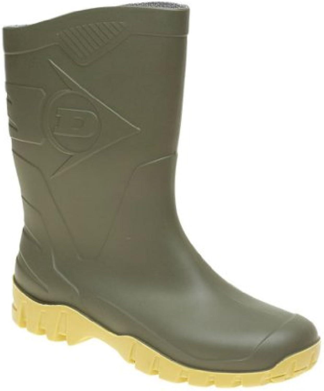 Dunlop - Botas para mujer Vert/noir