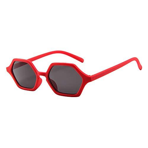 Produp Unisex 2019 Fashion Vintage Tourism Film Trend Classic Unregelmäßiger Rahmen Sonnenbrille Brille