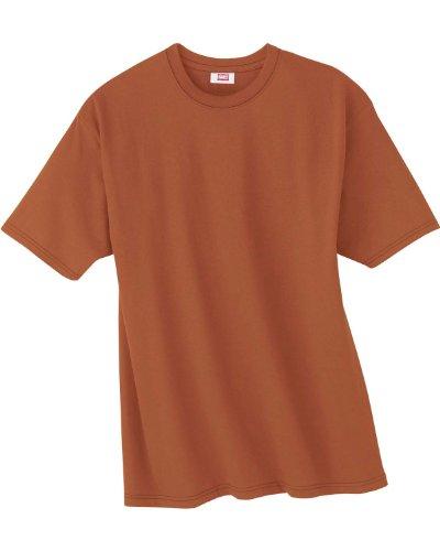 HanesHerren T-Shirt Braun
