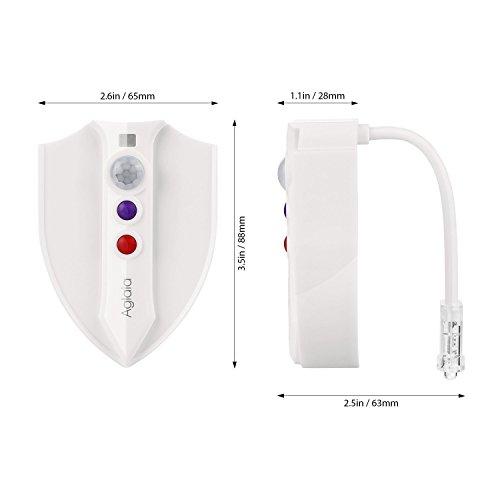 Licht Desinfizierung Uv Bewegung Aglaia Toilette Led y0mNnOv8w