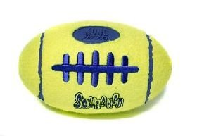 Kong Air Dog Squeaker American Football Great interactive toy comes in either small, medium and large