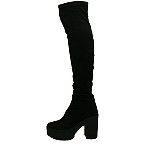ByPublicDemand B1H New Womens Over The Knee Thigh High Chunky