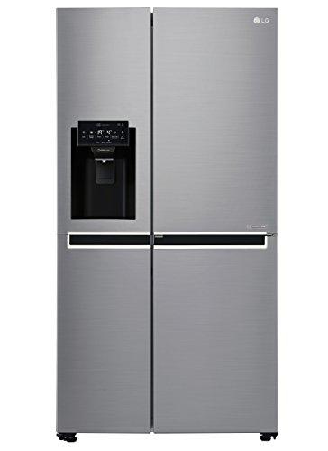 LG Electronics GSJ 760 PZXZ Side-by-Side / A++ / 179 cm / 376 kWh/Jahr / 405 L Kühlteil / 196 L Gefrierteil / Inverter Linear Kompressor / No Frost / stahl