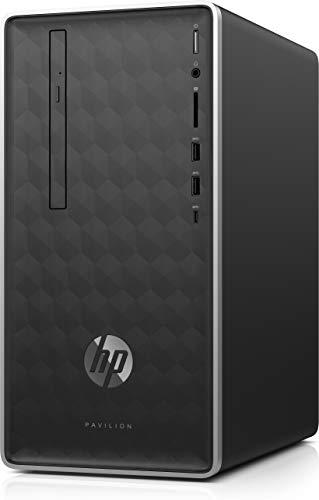 HP Pavilion Desktop 590-p0063ng Intel® Core i3-8100, 8GB RAM, 512GB SSD, UHD 630, Win10