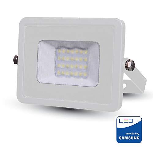 V-TAC Projecteur LED Pro Blanc 20 W Samsung Chip VT-20