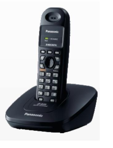 Panasonic Single Line 2.4GHz KX-TG 3600SXB Digital Cordless Telephone  available at amazon for Rs.1967