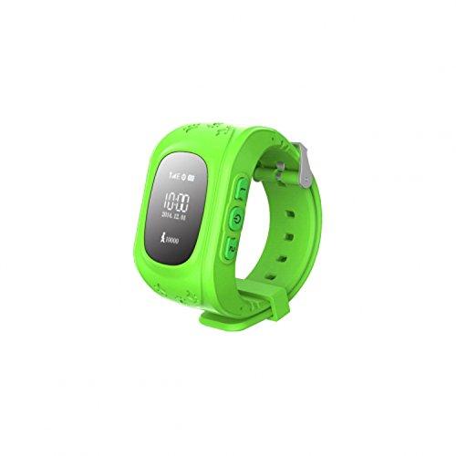 Art SGPS-01 Smart Watch mit GPS für Kinder SOS-Taste Wecker Alarm Pedometer SmartWatch (Grün)