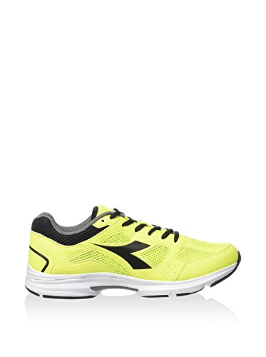 Diadora , Chaussures spécial volleyball pour homme Multicolore - C4102 GIALLO/NERO
