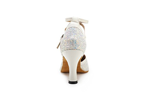Salle femme Heel Miyoopark White 8cm bal de v1naWz
