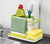 Sink Organizer Storage Basket Brush Spon...