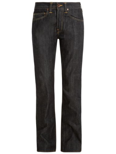 Edwin ED-47 Red Listed Selvage Jeans unwashed