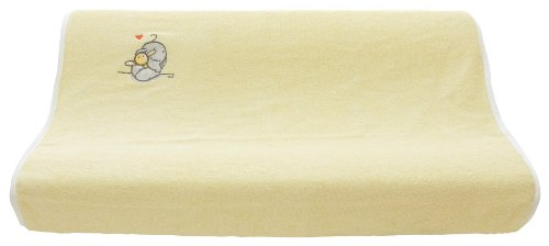 bébé-jou 3014 - Wickelauflage Bezug 2-keil Humphreys Gelb