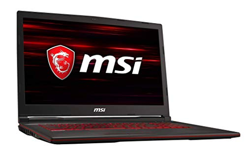 MSI GL73 8RE-688DE (43,9 cm/17,3 Zoll) Gaming-Laptop (Intel Core i7-8750H, 16  GB RAM, 512  GB PCIe SSD, Nvidia GeForce GTX 1060 6  GB, Windows 10 Home) schwarz