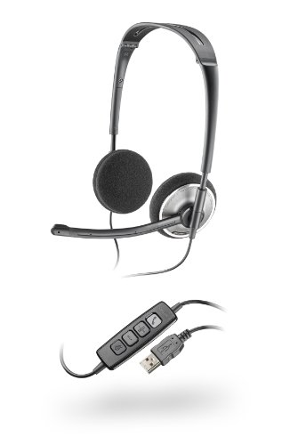 plantronics audio 478 stereo usb headset (audio 478) Plantronics Audio 478 Stereo USB Headset (Audio 478) 31ffj 2BHKXxL