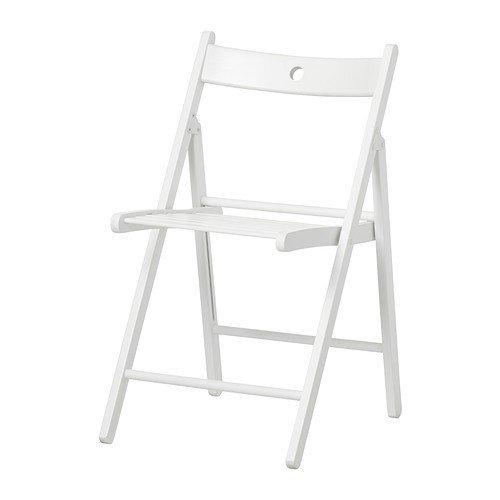 Ikea Terje - Silla Plegable, Blanco