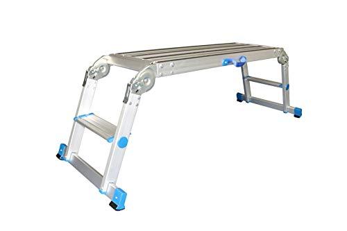 ALUMEXX X-STEP Arbeitsplattform klappbar Aluminium TÜV/GS - Klappbare Arbeitsplattform