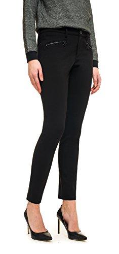 NYDJ Zip, Legging Sculptant Femme Black