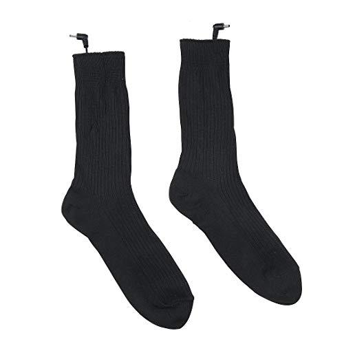 Beheizter Ski-socken (XZANTE Thermische Baumwolle Beheizte Socken Sport Ski Socken Winter Fußwärmer Elektrische Erwärmung Socke Batterie Power Männer Frauen)