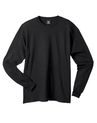 hanes-beefy-t-de-hombres-manga-larga-camiseta