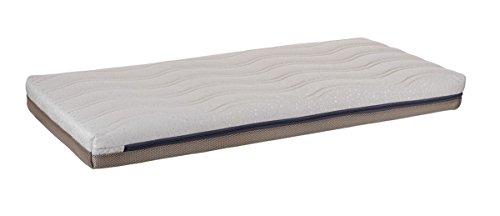Colchón de cuna VISCOELÁSTICA dos caras termo sensible antiácaros 120x60cm