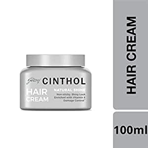 Cinthol Hair Styling Cream Natural Shine, 100ml