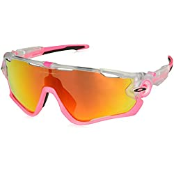 Oakley Jawbreaker, Gafas de Sol para Hombre, Transparente, 1