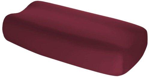 Fleuresse 1117 Vital-Comfort Housse en jersey pour coussin de soutien pour la nuque Bordeaux (4074)