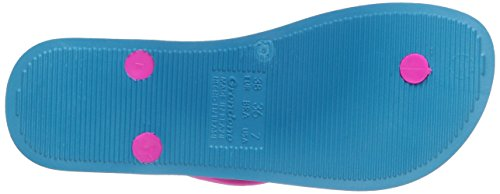 Ipanema Anat Temas IV Damen Zehentrenner Blau (Blue/Pink 22471)